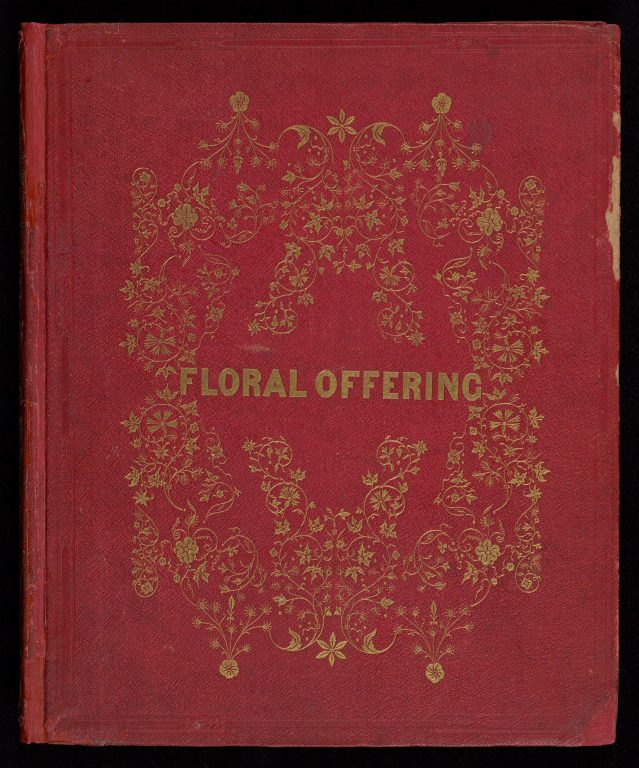 """Cover of the book """"The Floral Offering"""""""