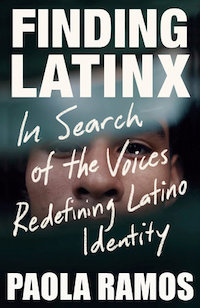 Book cover, Finding Latinx