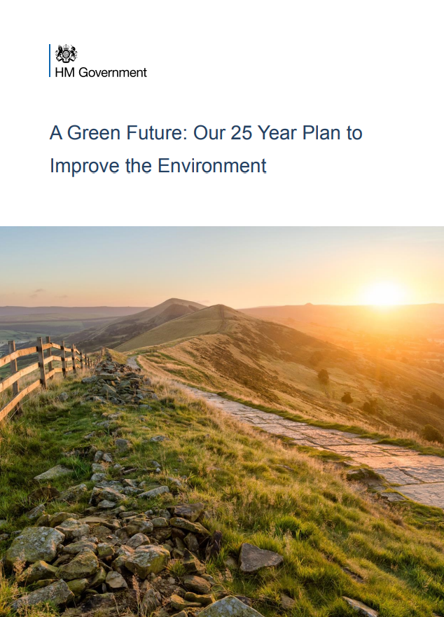 Cover for A Green Future