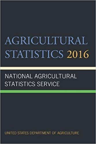 Cover image for Agricultural Statistics 2016