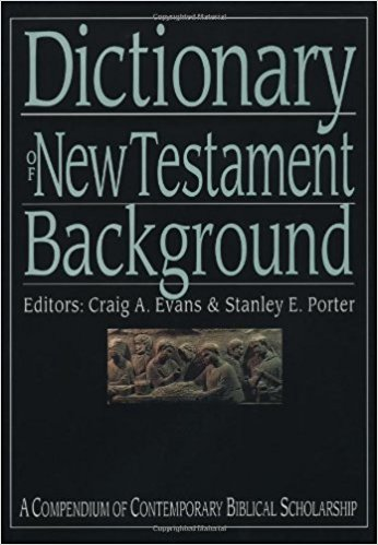 Cover image for Dictionary of New Testament Background