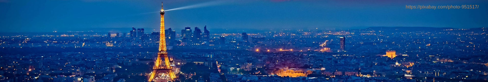 Paris Skyline [Pixabay]