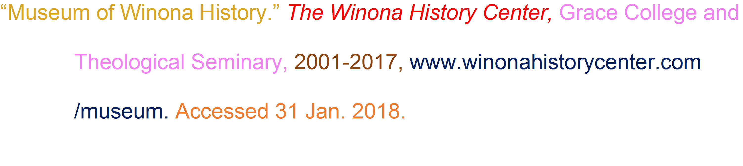 Web page Citation without Editor