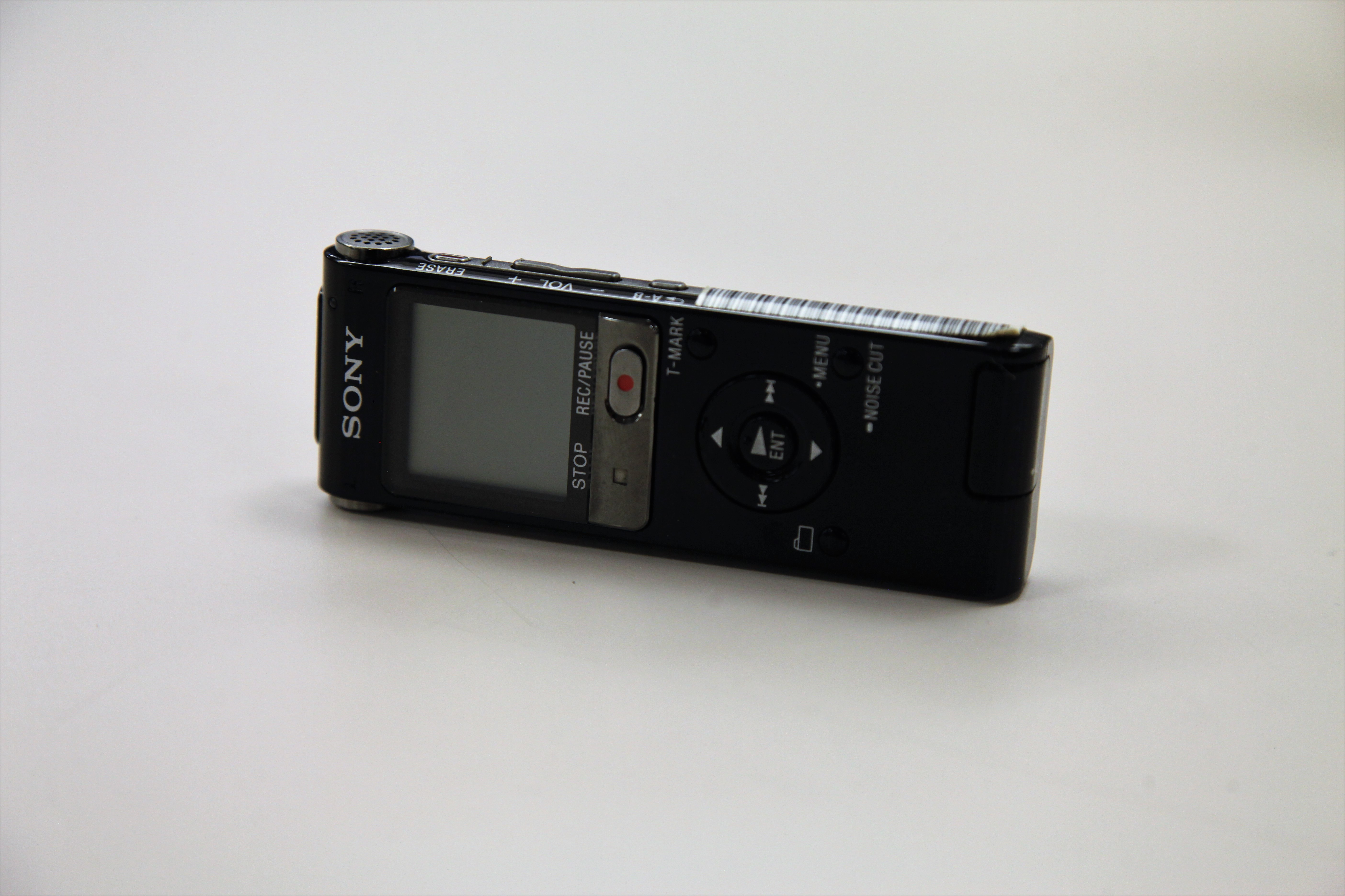 A Voice Recorder sitting on a counter