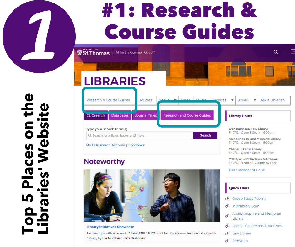 #1: Research & Course Guides