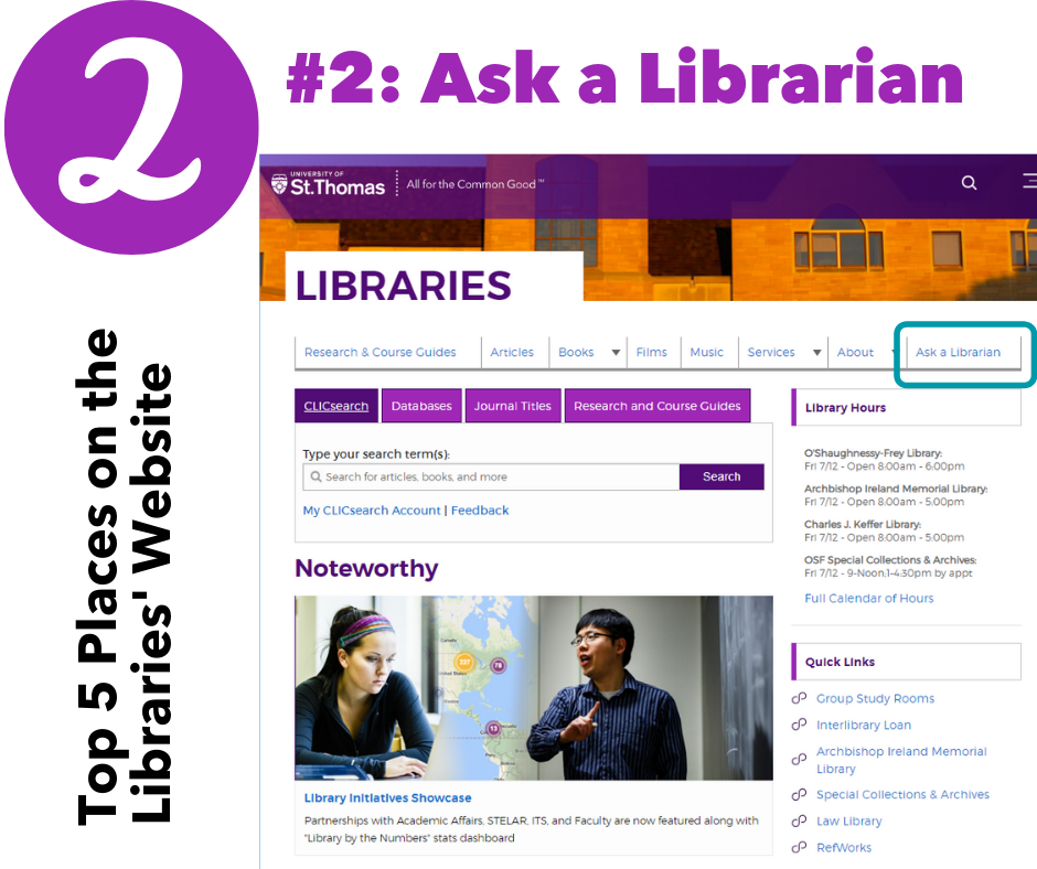 2: Ask a Librarian