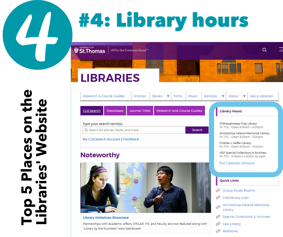 #4: Library hours