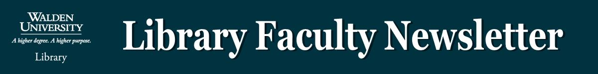 Library Faculty Newsletter