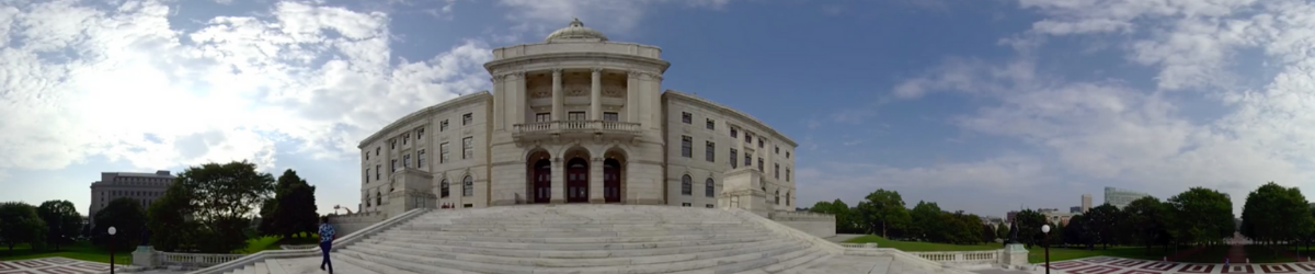 RI Statehouse in 360