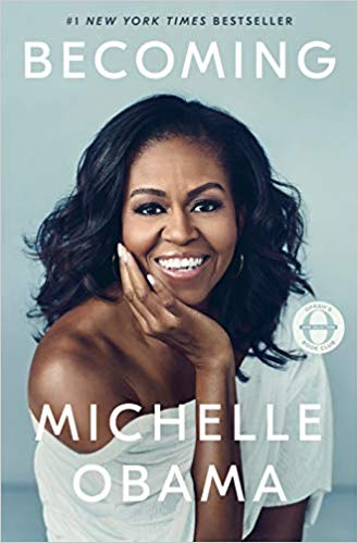 Becoming by Michelle Obama Bookcover and link