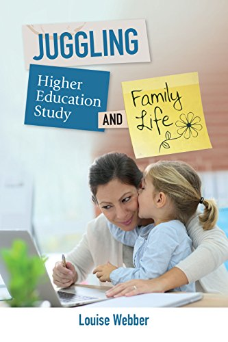 Cover of ebook titled Juggling Higher Education Study and Family Life.
