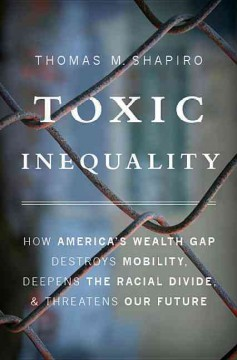 Book cover and link for Toxic Inequality.