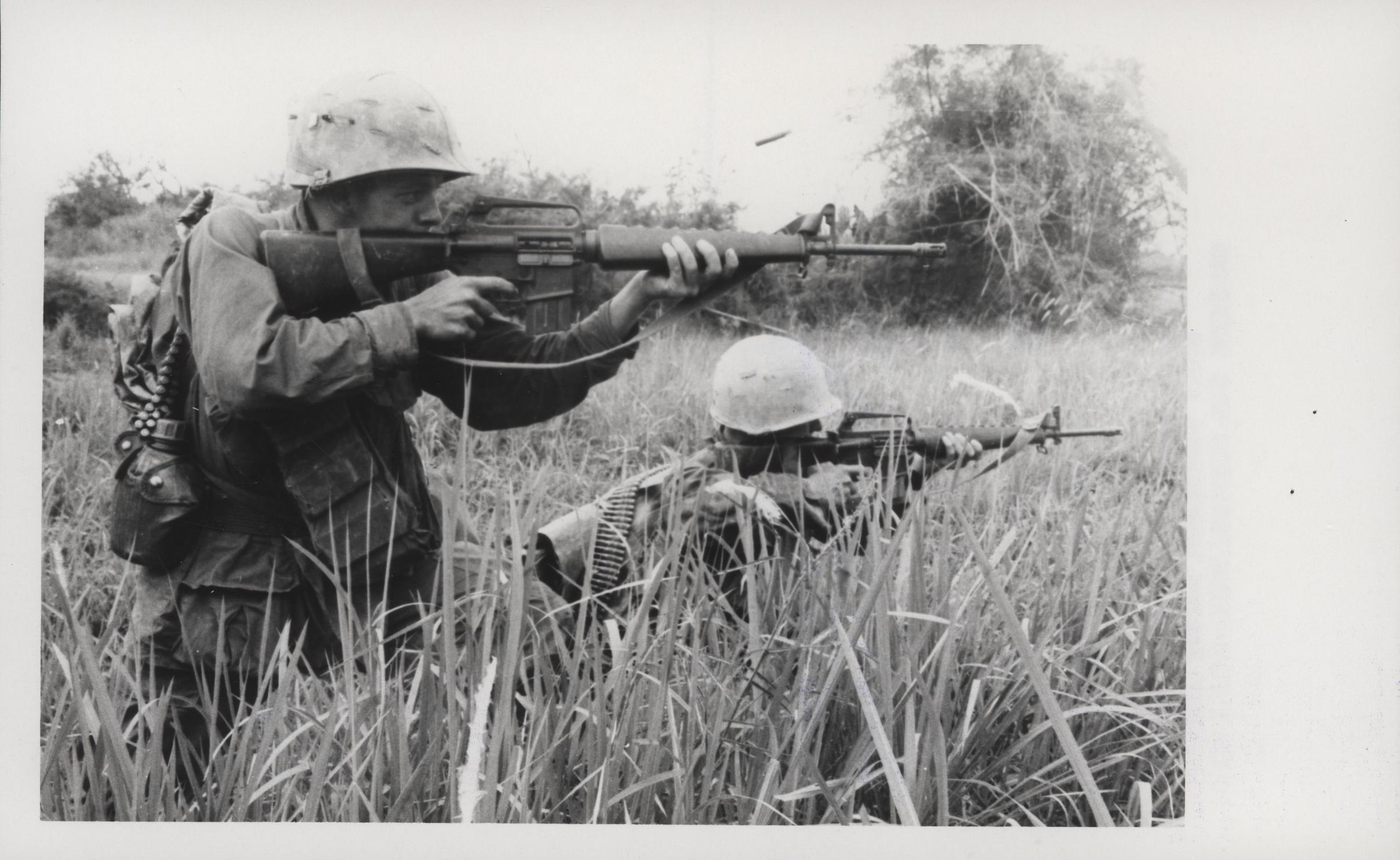Marines on Operation Meade River, 1968