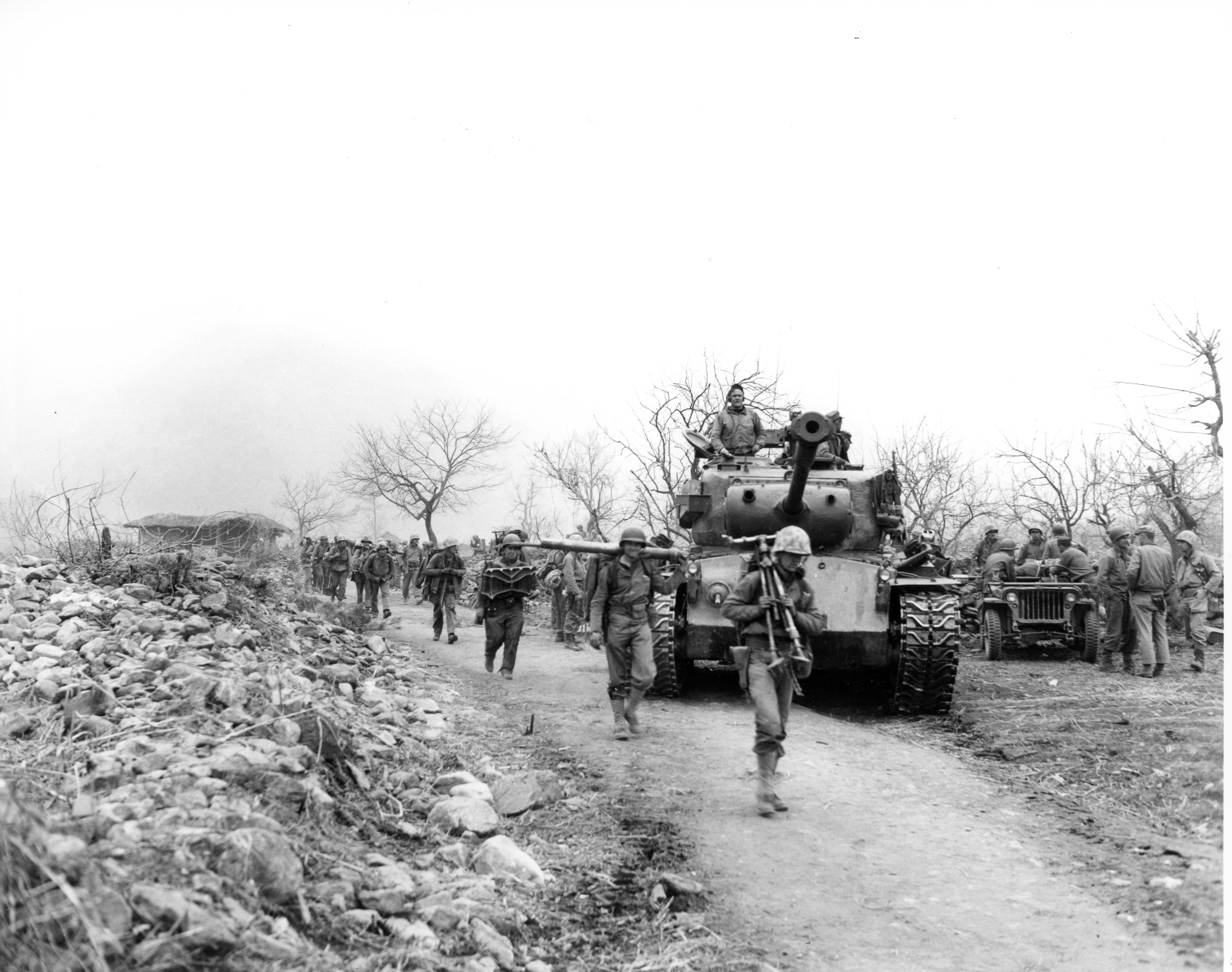 7th Marines in Korea, April 1951