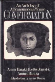Cover Art for Confirmation, an anthology of African American women