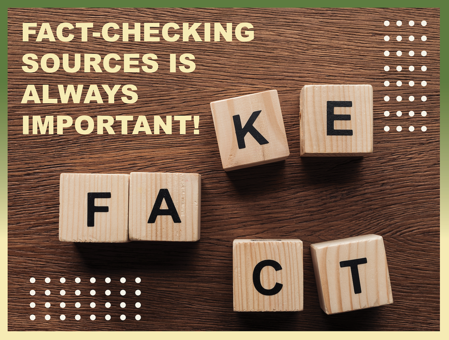 Fact-checking sources