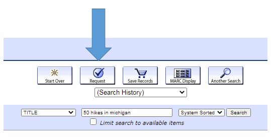 Request button example