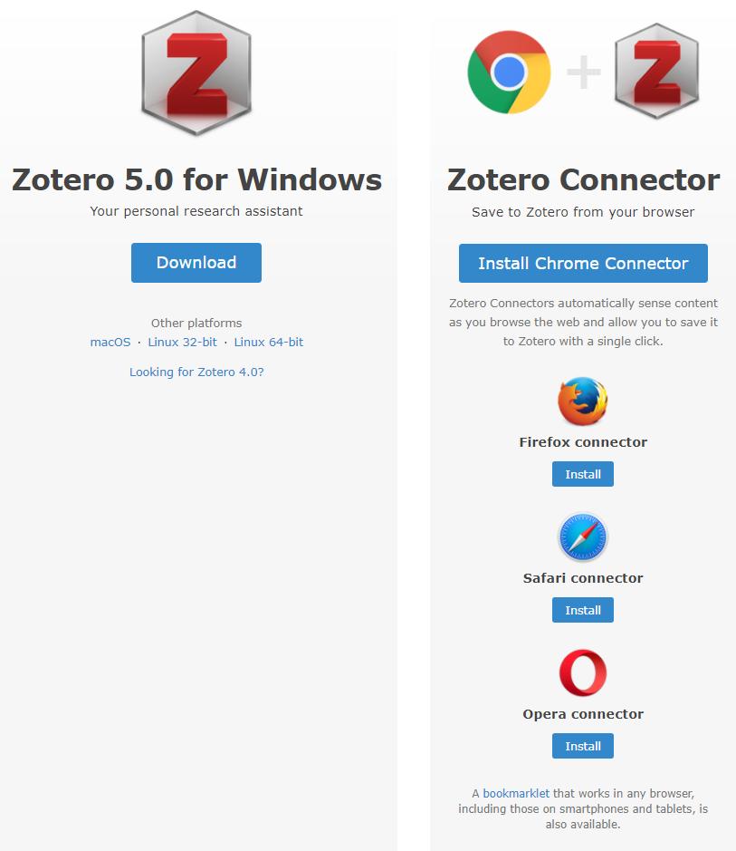 Zotero Software