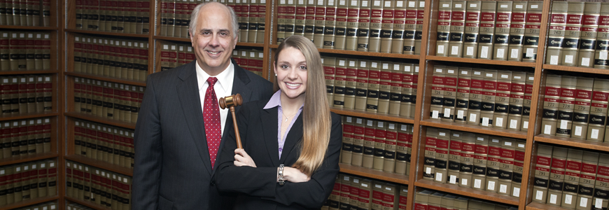 Herbert J. Wechsler National Criminal Law Moot Court Competition winners: Tony Strike '13 and Sarah Kyriakedes '13