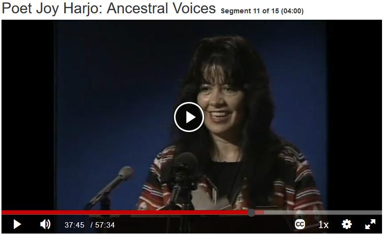 Poet Joy Harjo: Ancestral Voices