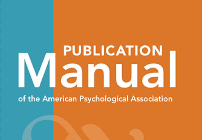 Cover image for the APA Manual 7th edition
