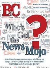 B & C trade cover with the headline Who's Got the News Mojo?
