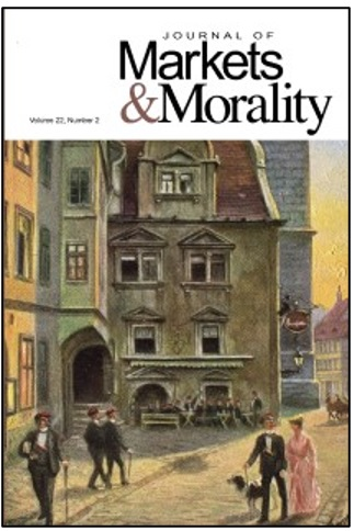 Journal of Markets & Morality
