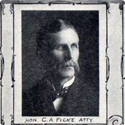 Portrait of C A Ficke