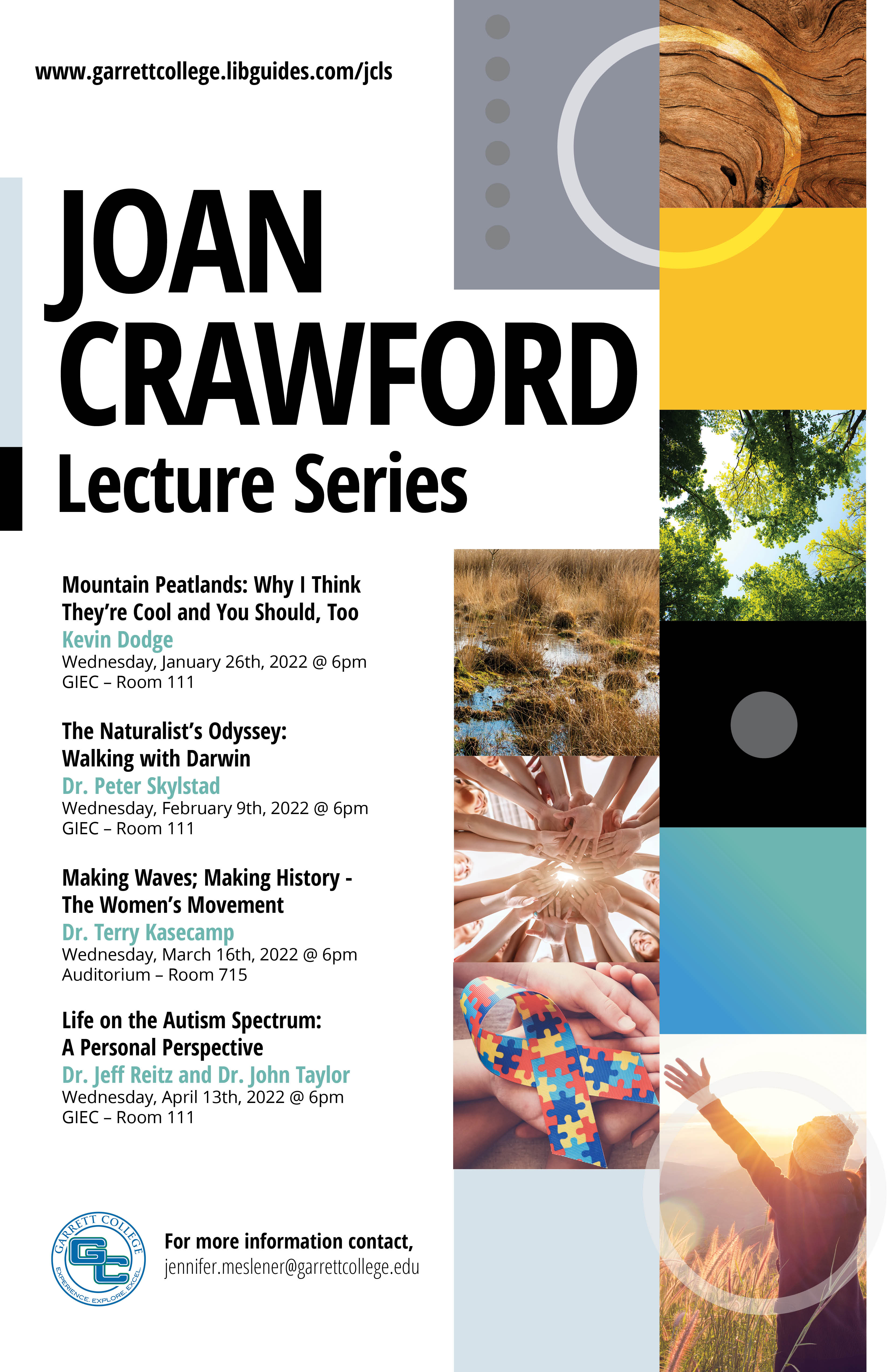 joan crawford lecture schedule