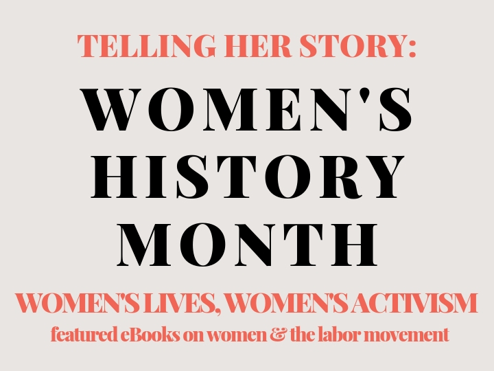 Slide introducing Women's History Month Featured Resources