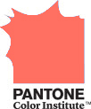 Pantone Color Institute Logo (2019 - Living Coral)