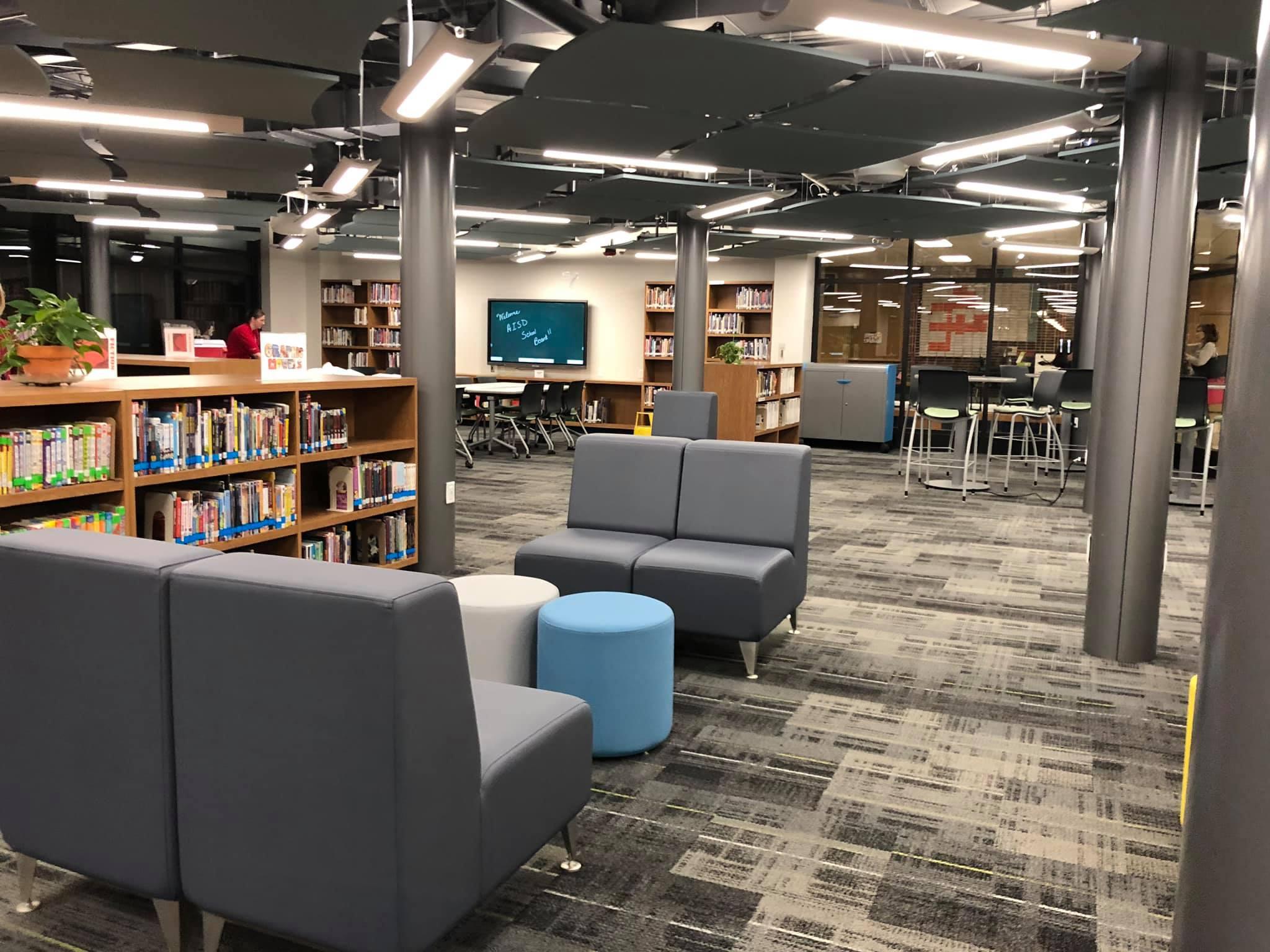 Fannin Middle School Library 1