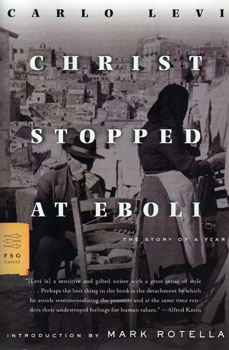 Christ Stopped at Eboli book cover