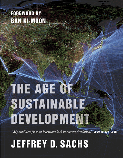 The Age of Sustainable Development (book cover)