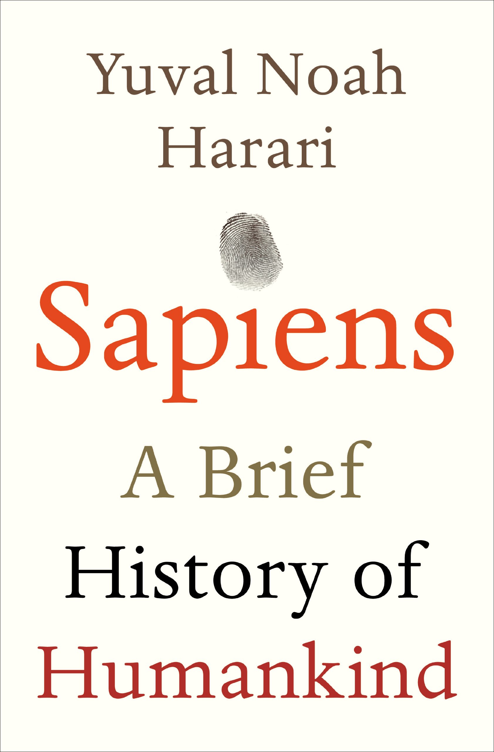 Sapiens (book cover)