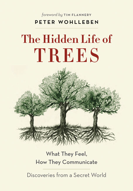 The Hidden Life of Trees (book cover)