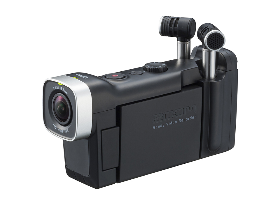 Front view photo of Zoom q4N Video Recorder available for checkout.