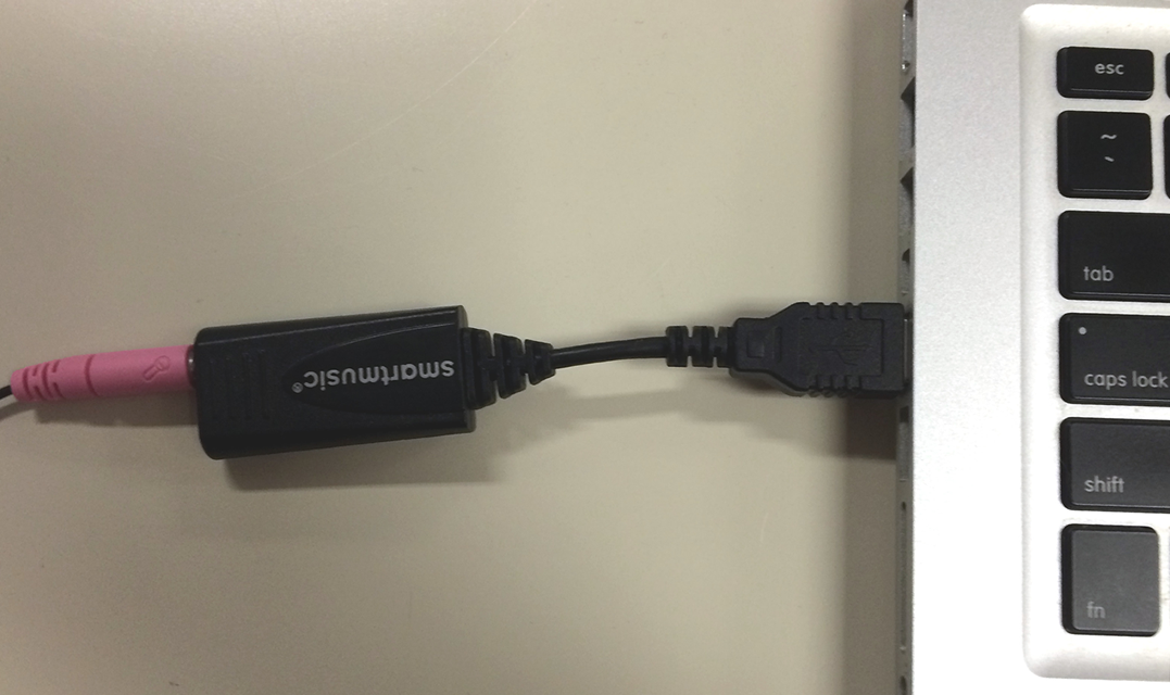 Image of USB mic that clips on to your instrument available for checkout.