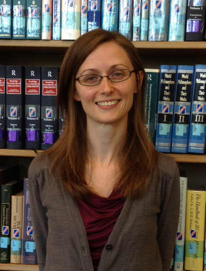 Librarian Heather Cook
