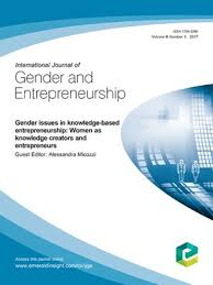 Journal of Gender and Entrepreneurship
