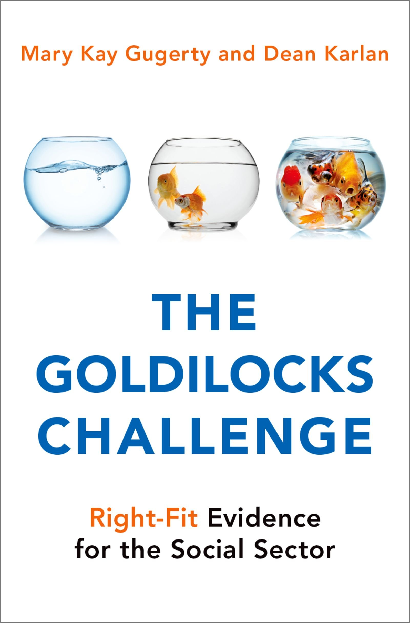 book cover: The Goldilocks Challenge: Right-Fit Evidence for the Social Sector