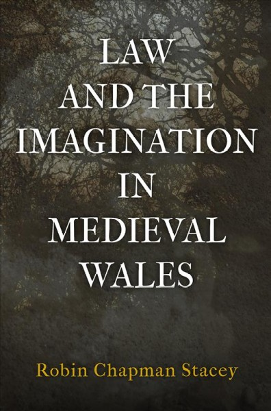 book cover: Law and the Imagination in Medieval Wales