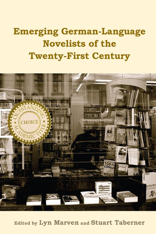 book cover: Emerging German-Language Novelists of the Twenty-First Century