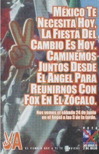 sample of mexican poster