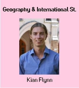 Image: Kian Flynn, Geography & International Studies Librarian