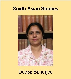Image: Deepa Banerjee, South Asian Studies Librarian