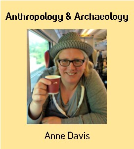 Image: Anne Davis, Anthropology & Archaeology Librarian