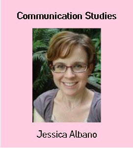 Image: Jessica Albano, Communication Studies Librarian