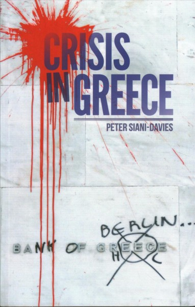 Book cover: Crisis in Greece.