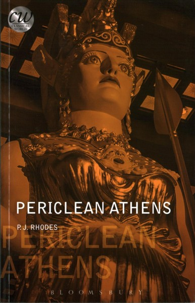 Book cover: Periclean Athens.